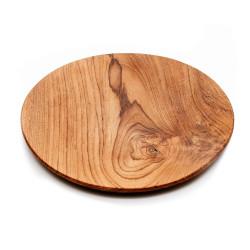 The Teak Root Round Plate - XL, Bazar Bizar, XL