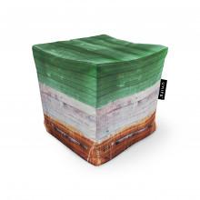 Fotoliu Units Puf (Bean Bags) tip cub, impermeabil, lemn vopsit