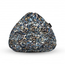 Fotoliu Units Puf (Bean Bags) tip para, impermeabil, cu maner, pietricele