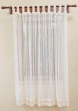 PR028B 160*180cm Perdea de bucatarie din bumbac cu dantela