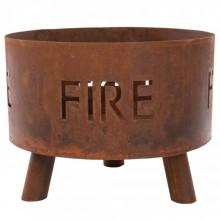 """RedFire Bol pentru foc """"Fulla"""", ruginiu, 88030"""
