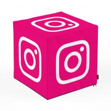 Taburet Units, cub, Social Media 1, 45 x 45 x 45 cm
