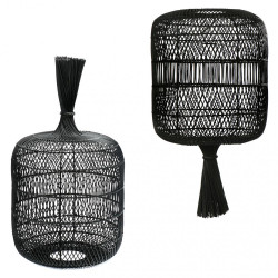The Dumpling Floor Lamp - Pendant - Black, Bazar Bizar, L