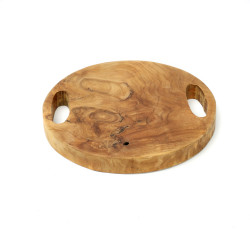 The Teak Root Tray - Natural - S, , S