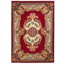 Covor oriental, rosu/bej, 140 x 200 cm