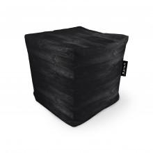Fotoliu Units Puf (Bean Bags) tip cub, impermeabil, lemn negru