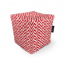 Fotoliu Units Puf (Bean Bags) tip cub, impermeabil, model rosu si alb