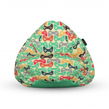 Fotoliu Units Puf (Bean Bags) tip para, impermeabil, cu maner, 100x80x70 cm, controllers