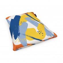 Fotoliu Units Puf (Bean Bags) tip perna, impermeabil, abstract retro