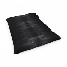 Fotoliu Units Puf (Bean Bags) tip perna, impermeabil, lemn negru