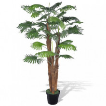 Palmier artificial cu aspect natural si ghiveci 180 cm