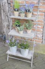 Scara-suport pentru ghivece flori-3 nivele