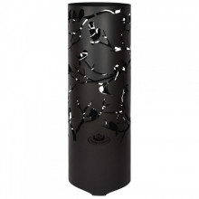 Esschert Design Cos de foc Birds on Twig, negru, otel carbon FF409