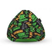 Fotoliu Units Puf (Bean Bags) tip para, impermeabil, cu maner, 100x80x70 cm, play more retro