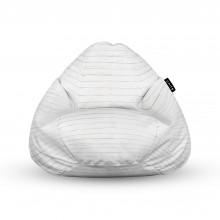 Fotoliu Units Puf (Bean Bags) tip para, impermeabil, cu maner, lemn alb