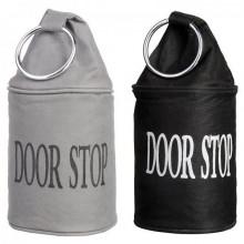 """Opritor usa textil cu toarta metalica """"Door stop"""""""