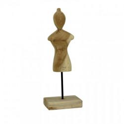Statueta KOLATA, lemn de tec, 40cm