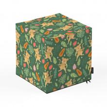 Taburet Units, cub, Maimute, 30 x 30 x 30 cm