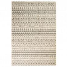 Covor modern, design traditional, 160 x 230 cm, bej/gri