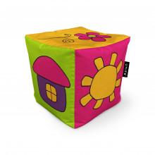 Fotoliu Units Puf (Bean Bags) tip cub, impermeabil, copii