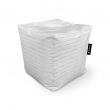 Fotoliu Units Puf (Bean Bags) tip cub, impermeabil, lemn alb