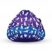 Fotoliu Units Puf (Bean Bags) tip para, impermeabil, cu maner, 100x80x70 cm, fortnite
