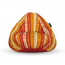 Fotoliu Units Puf (Bean Bags) tip para, impermeabil, cu maner, hieroglife egiptene