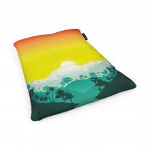 Fotoliu Units Puf (Bean Bags) tip perna, impermeabil, tropical