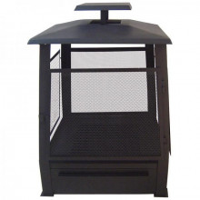 Incalzitor terasa tip pagoda cu protectie