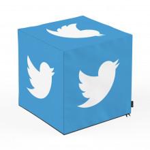 Taburet Units, cub, Social Media 5, 45 x 45 x 45 cm