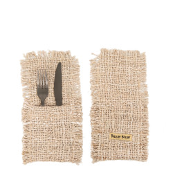 The Oh My Gee Cutlery Holder - Beige - Set of 4, , SET4