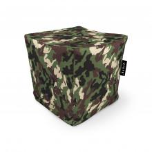 Fotoliu Units Puf (Bean Bags) tip cub, impermeabil, camuflaj armata