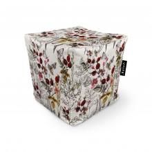 Fotoliu Units Puf (Bean Bags) tip cub, impermeabil, flori si fluturi