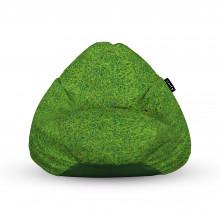 Fotoliu Units Puf (Bean Bags) tip para, impermeabil, cu maner, iarba verde