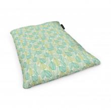 Fotoliu Units Puf (Bean Bags) tip perna, impermeabil, frunze verzi si galbene