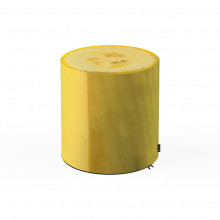 Taburet Units, cilindru, banana, 30 x 30 cm