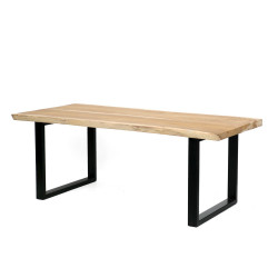 The Suar Dining Table - Natural, , 200x90