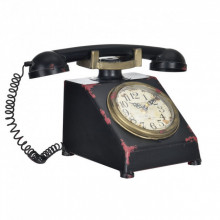 Ceas design stativ - Model 28 Telefon, metal/plastic, 33 x 20 x 19 cm, multicolor