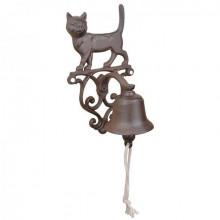 """Clopotel decorativ din fier """"Pisica"""""""