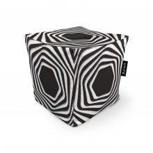 Fotoliu Units Puf (Bean Bags) tip cub, impermeabil, abstract zebra