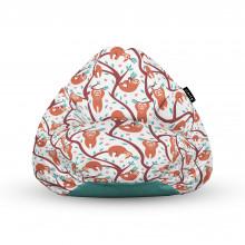 Fotoliu Units Puf (Bean Bags) tip para, impermeabil, cu maner, 100x80x70 cm, lenesi in copaci