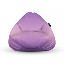 Fotoliu Units Puf (Bean Bags) tip para, impermeabil, cu maner, topografic mov