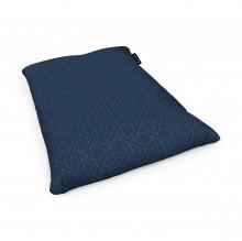 Fotoliu Units Puf (Bean Bags) tip perna, impermeabil, albastru inchis si linii bej