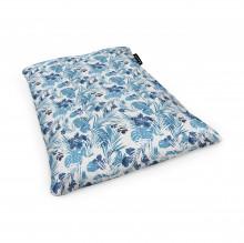 Fotoliu Units Puf (Bean Bags) tip perna, impermeabil, frunze albastre