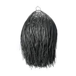Lustra Bazar Bizar, The Shaggy Negru M, 45x45x75 cm