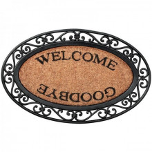 "Pres de usa oval ""Welcome-Goodbye"""