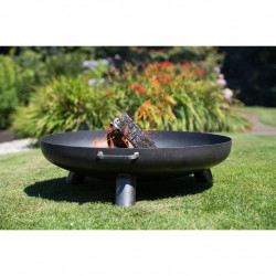 RedFire Vatra de foc Salo, negru, 80 cm, otel 81020