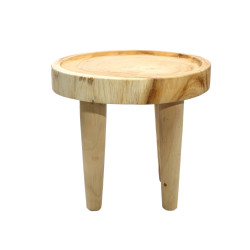 The Suar Side Table - Natural, , 40