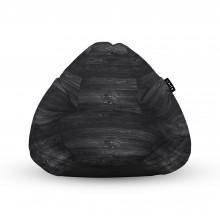 Fotoliu Units Puf (Bean Bags) tip para, impermeabil, cu maner, lemn negru