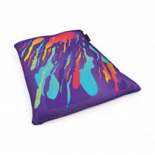 Fotoliu Units Puf (Bean Bags) tip perna, impermeabil, retro lava